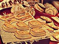 Слойка, сдоба, хлеб