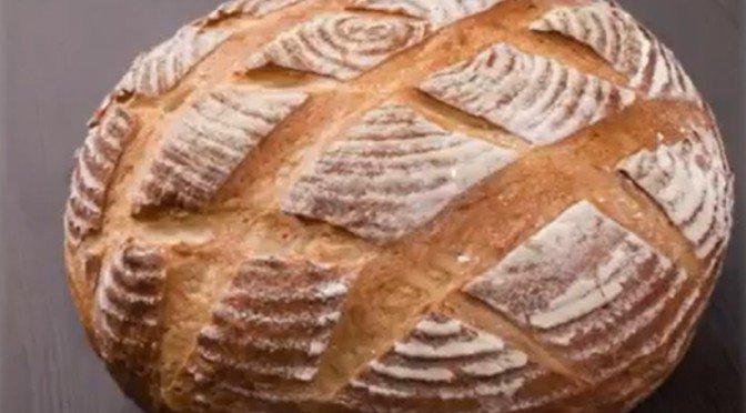 леб на кефире домашний
