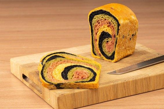 Цветные хлеба